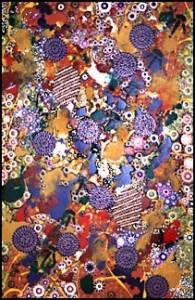 aboriginal painting emu dreaming 972 by walangari karntawarra