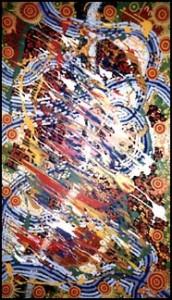 aboriginal painting kwatye 951 by walangari karntawarra