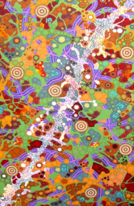 aboriginal painting milkyway dreaming 084 by walangari karntawarra