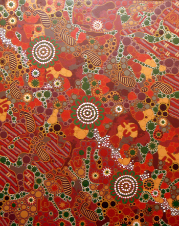aboriginal painting milkyway dreaming 071 by walangari karntawarra