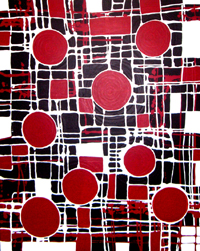 aboriginal painting kinship 081 by walangari karntawarra