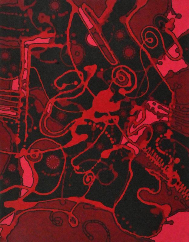 aboriginal painting creation dreaming 091 by walangari karntawarra