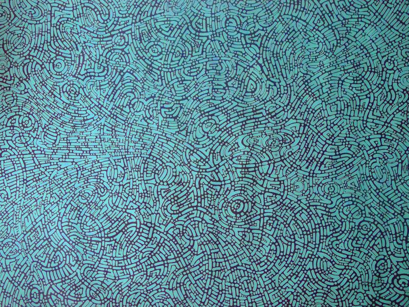 aboriginal painting songlines 115 by walangari karntawarra