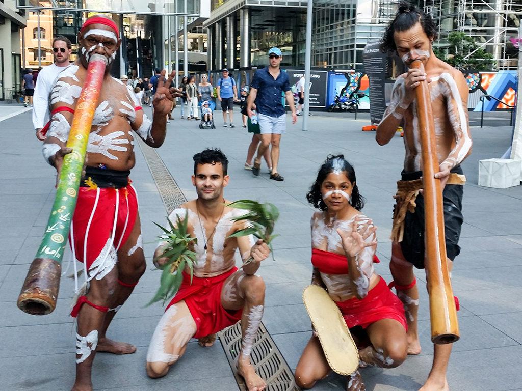 aboriginal cultural education dance didgeridoo performance by diramu