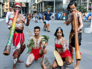 aboriginal cultural education dance didgeridoo performance by diramu