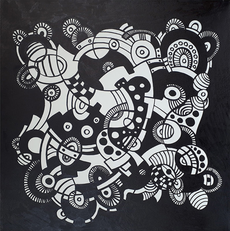 aboriginal painting transformer 217 (alternative) by walangari karntawarra