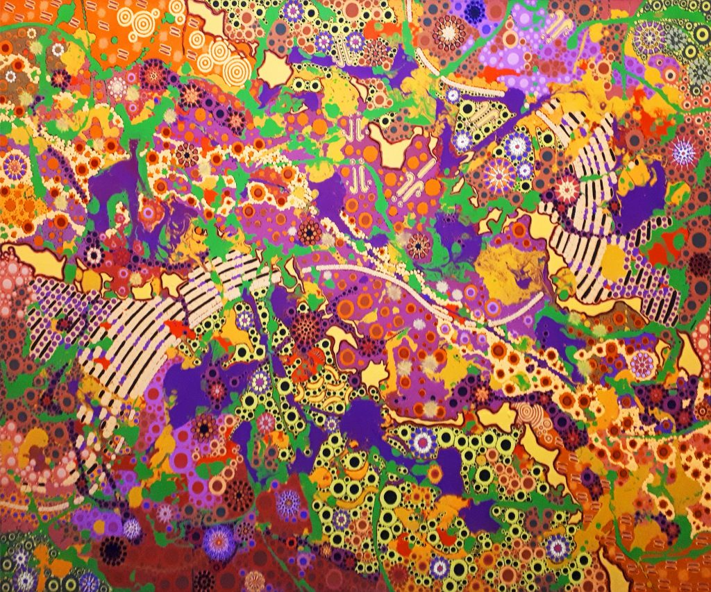 aboriginal painting euro dreaming 981 by walangari karntawarra