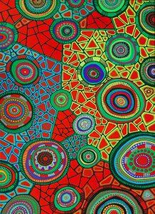 aboriginal painting water dreaming 118 by walangari karntawarra