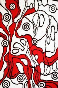 aboriginal painting sing for country 120 by walangari karntawarra
