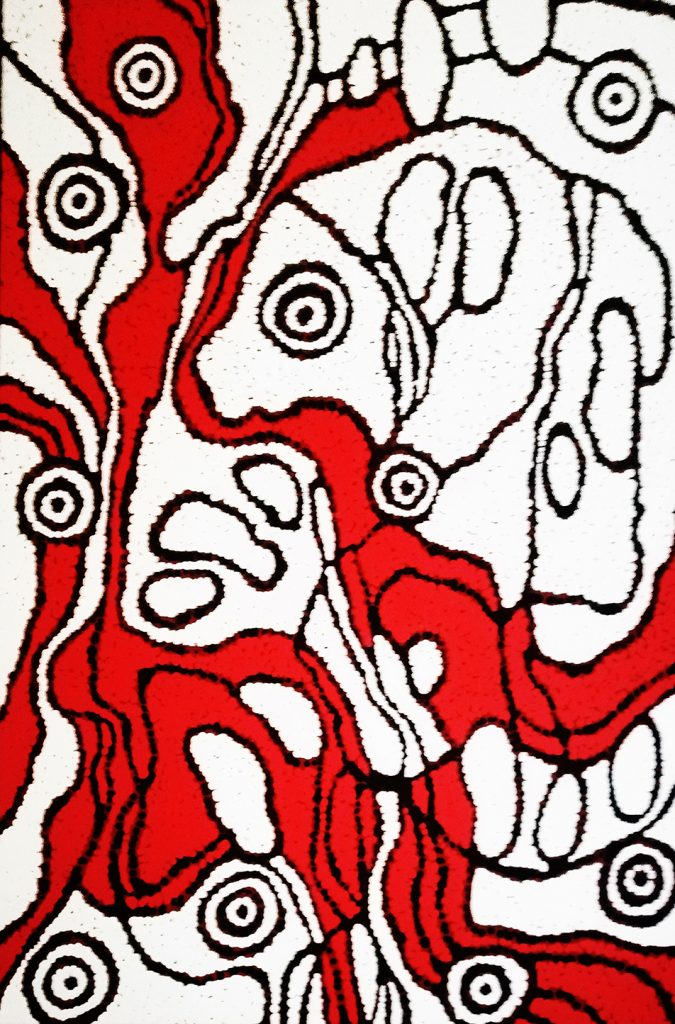 aboriginal painting sing for country 120 by walangari karntawarra